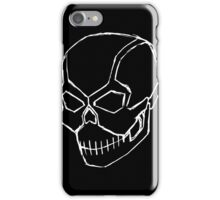 Metal Skull (Sketch) iPhone Case/Skin