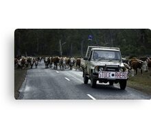 Mobile cowboys Canvas Print