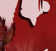 Monster Hunter: Hunting a Barioth Sticker