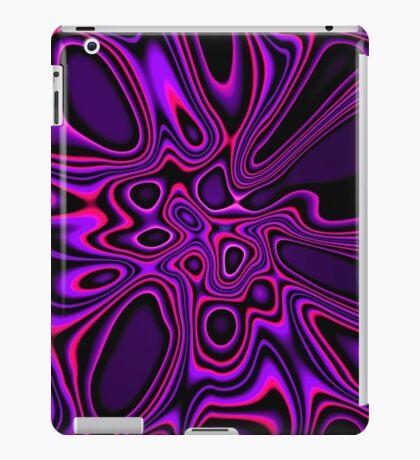 Purple Pink Fractal 1 iPad Case/Skin