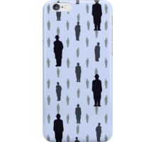 By Rene Magritte Golconda.  iPhone Case/Skin