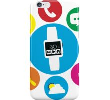 technological devices and weather iPhone Case/Skin