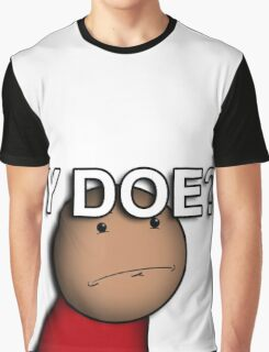 """Why Though? - """"Cartoon Dudes"""" Graphic T-Shirt"""