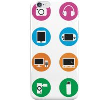 echnological devices symbol iPhone Case/Skin