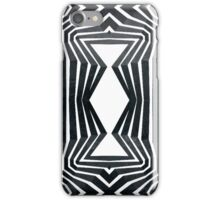 Black White Tribal Pattern  iPhone Case/Skin