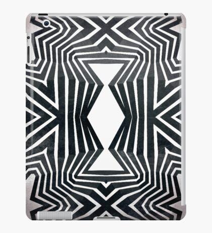 Black White Tribal Pattern  iPad Case/Skin