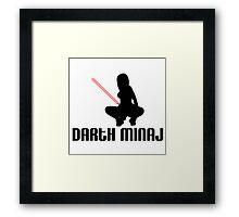 Darth Minaj Framed Print