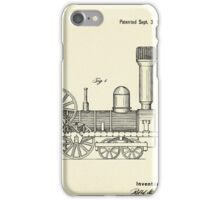 Locomotive-1842 iPhone Case/Skin
