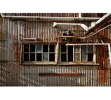 Old Facade - Old Geelong Tannery Photographic Print