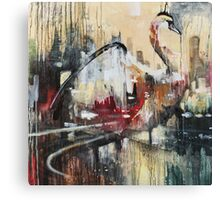 THE LAKE CITY Canvas Print