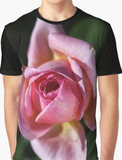 Love For Pink Rose Graphic T-Shirt