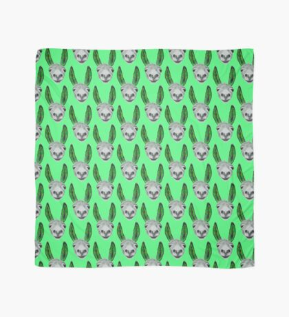 Funny donkey (green) Scarf