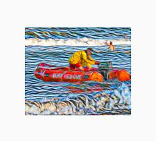 Abstract Surf Rescue boat in action Unisex T-Shirt