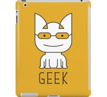 Cat Geek Mode iPad Case/Skin