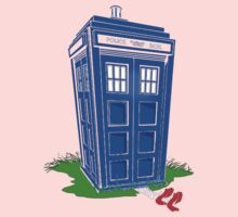 Wicked Tardis Baby Tee