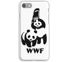 WWF WWE Panda iPhone Case/Skin