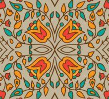 - Oriental flower pattern - Sticker