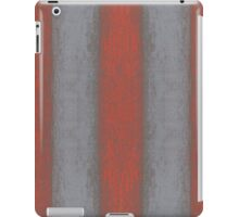 """Grey and orange stripes"" abstract pattern, pastel texture, handdrawn,  iPad Case/Skin"