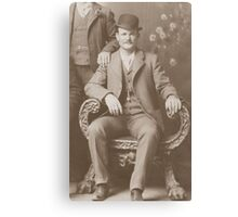 Butch Cassidy - Outlaw Portrait Canvas Print