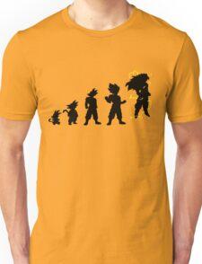 Songoku evolution  Unisex T-Shirt