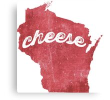 Cheese.  Glorious Cheese. Canvas Print