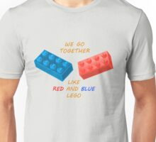 We go together like LEGO Unisex T-Shirt