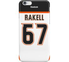 Anaheim Ducks Rickard Rakell Away Jersey Back Phone Case iPhone Case/Skin