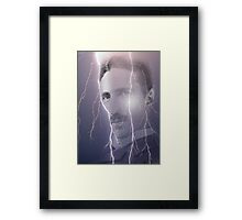 tesla Framed Print