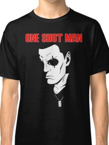 Saito (ghost in the shell) - One Shot man Classic T-Shirt