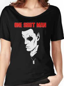Saito (ghost in the shell) - One Shot man Women's Relaxed Fit T-Shirt