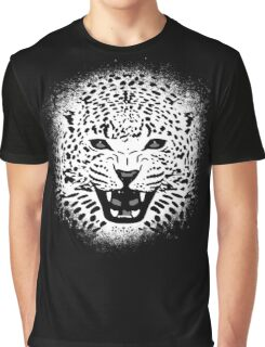 White Tiger Grunge Graphic T-Shirt