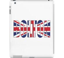 Bolton. iPad Case/Skin