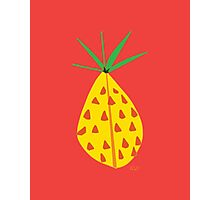 Red Hot Pineapple Photographic Print