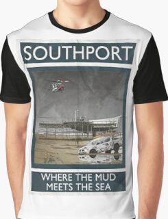 Southport - Where The Mud Meets The Sea Graphic T-Shirt