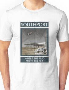 Southport - Where The Mud Meets The Sea Unisex T-Shirt