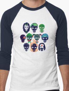 Skulls of The Squad Men's Baseball ¾ T-Shirt