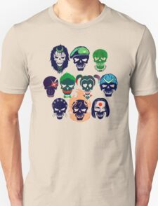 Skulls of The Squad Unisex T-Shirt