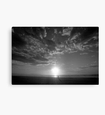 Ocean Beach Sunset, West Coast Tasmania 7 Canvas Print