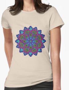 Bluemungus mandala Womens Fitted T-Shirt
