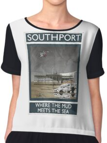 Southport - Where The Mud Meets The Sea Chiffon Top