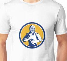 Kendo Kendoka Swordsman Circle Unisex T-Shirt