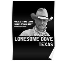 The Sunny Slopes of Long Ago - Lonesome Dove Poster