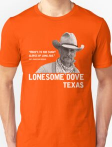 The Sunny Slopes of Long Ago - Lonesome Dove T-Shirt