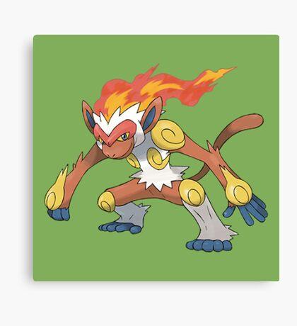 Pokemon Panferno Canvas Print