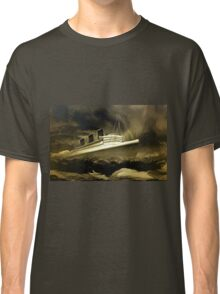 An old style digital painting of RMS Queen Mary Classic T-Shirt