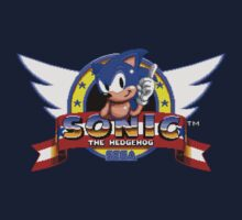 Sonic retro logo Kids Tee