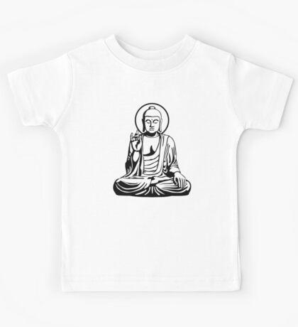 Young Buddha (black) Kids Tee