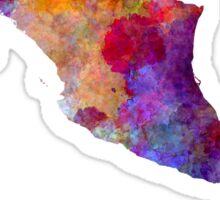 Mexico in watercolor Sticker
