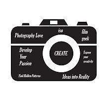 Camera Design Photographic Print