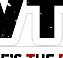 W.T.F - Where's The Food Sticker